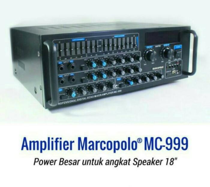 harga Amplifier marcopolo mc-999 bisa untuk speaker 12/15/18 inch Tokopedia.com