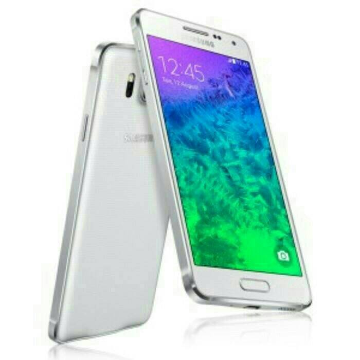 Foto Produk Samsung Galaxy Alpha G850F White / 4G LTE / Rom 2 GB RAM 32 Gb dari ARLAN CELL