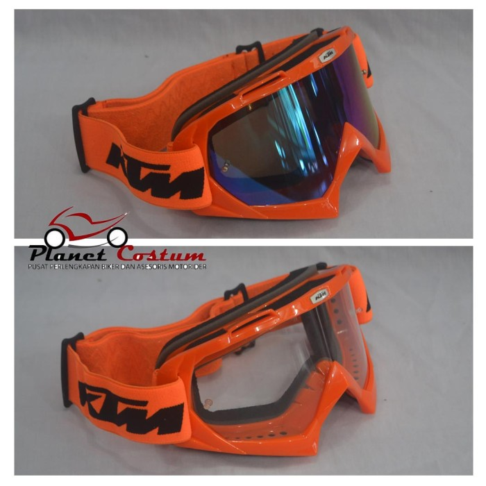 harga Goggle import kacamata sepeda motor motocross ktm bukan snail vega Tokopedia.com