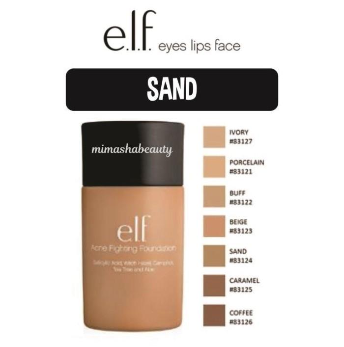 elf acne fighting foundation sand