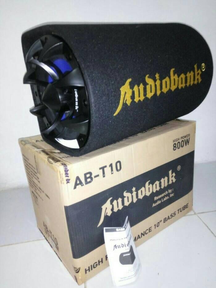 harga Subwoofer aktif basstube bass tube audiobank 10 inch 10 inci Tokopedia.com
