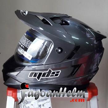 harga Mds helm super pro fullface ringan supermoto Tokopedia.com