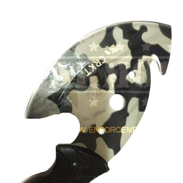 CRKT Axe Kapak No1 Outdoor Hijau .