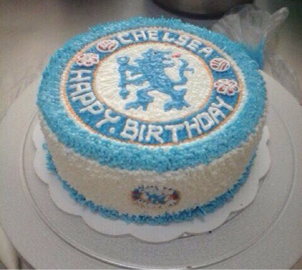 Amazing Jual Cake Buttercream Ukuran 20Cm Birthday Cake Chelsea Personalised Birthday Cards Veneteletsinfo