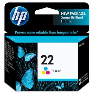 Tinta Catridge Original Printer HP 22 (Tri Colour)