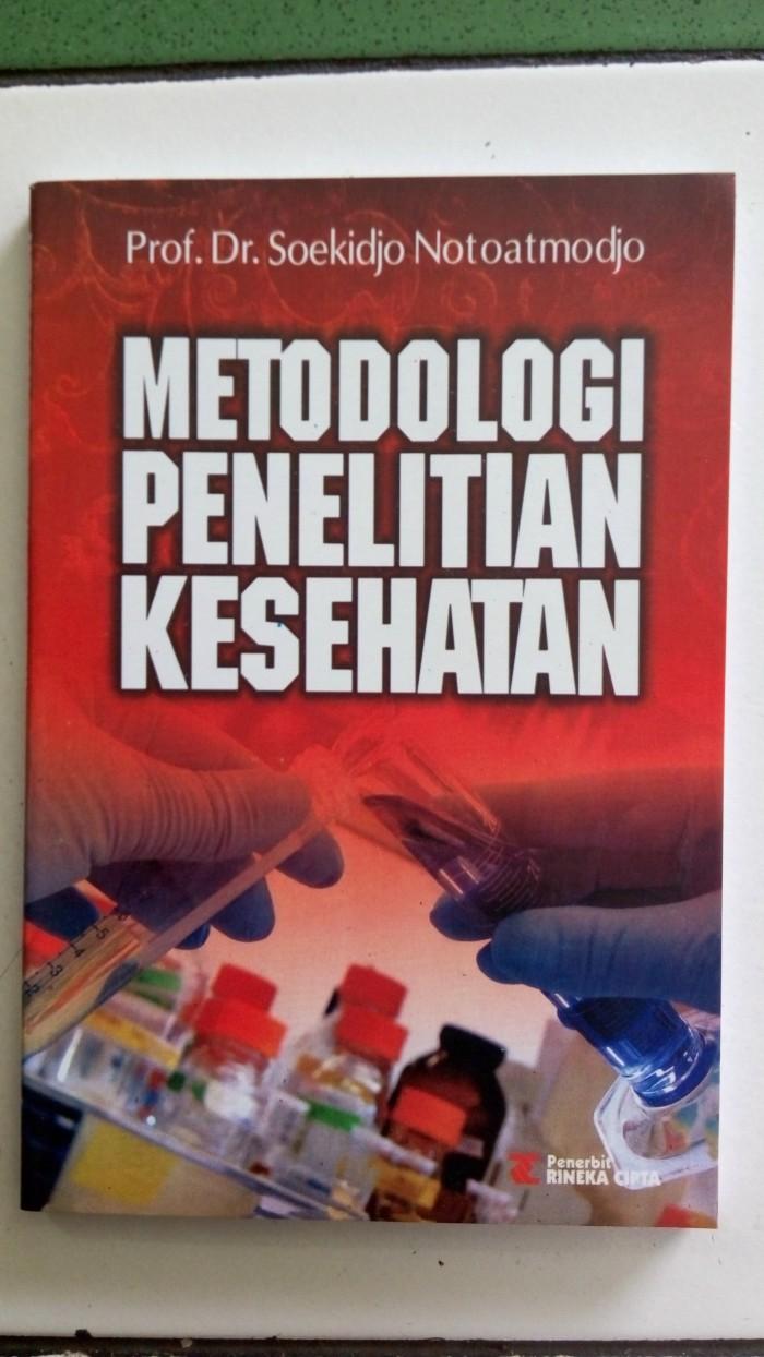 harga Metodologi penelitian kesehatan - soekidjo notoatmodjo Tokopedia.com