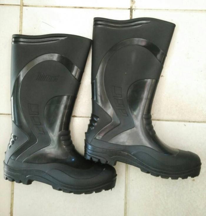 Jual sepatu boots panjang safety mitzuno boot karet - belawa indah ... 0dcf21d996