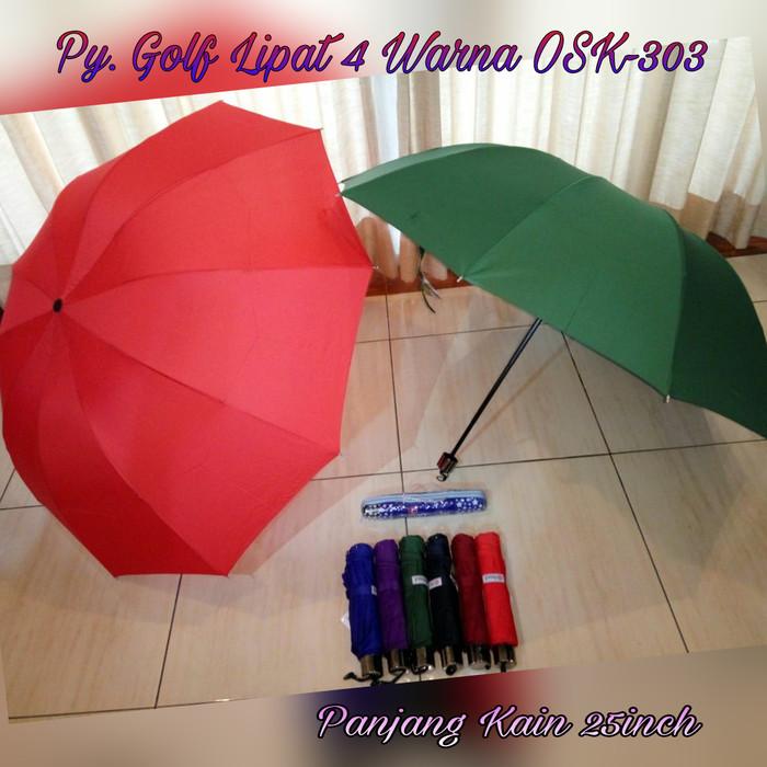 harga Payung golf warna lipat 4 merek osaka / osk-303 free tas Tokopedia.com