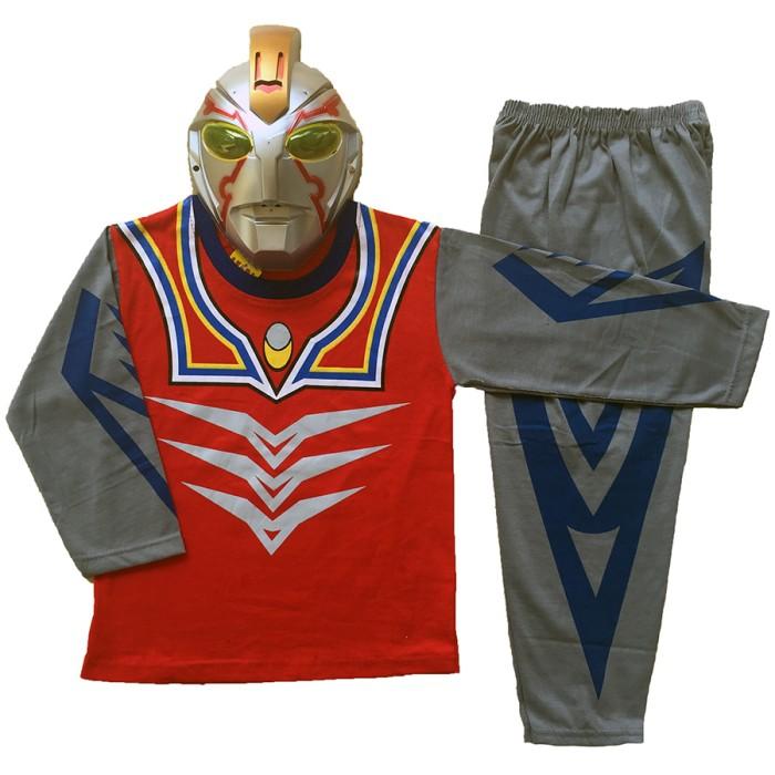 Costume anak topeng superhero ultraman limited