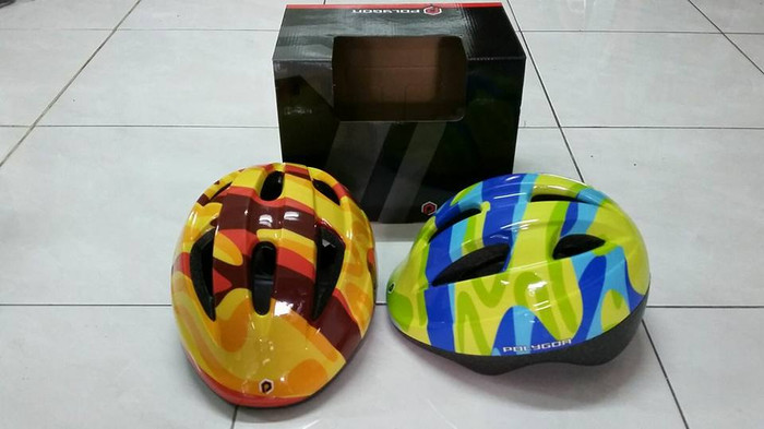 harga Helm sepeda anak polygon wave kids helmet bicycle Tokopedia.com