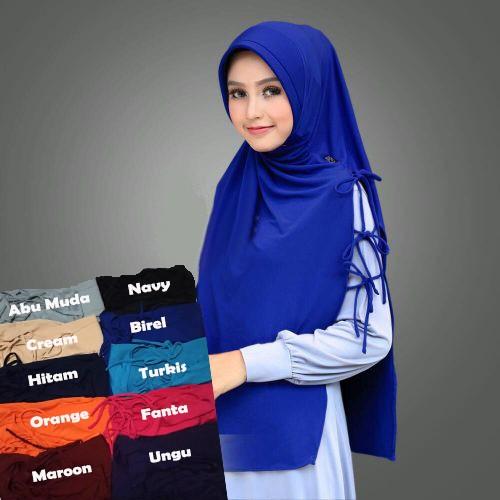Jual Jilbab Instan Kerudung Hijab Syari Bergo Syria Talisya Berkualitas Jakarta Timur Kunyahshop Tokopedia