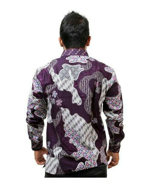 Jual kemeja batik pria  baju batik pria  batik pria lengan