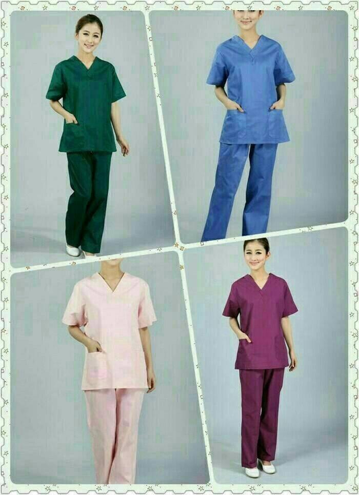 Foto Produk Baju OK / Baju Perawat Lengan pendek dari multi medika sarana