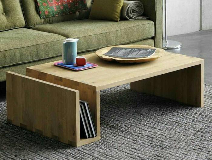 Jual Meja Tamu Sofa Minimalis Modern Kayu Simple Kota Medan D Sense Furniture Tokopedia