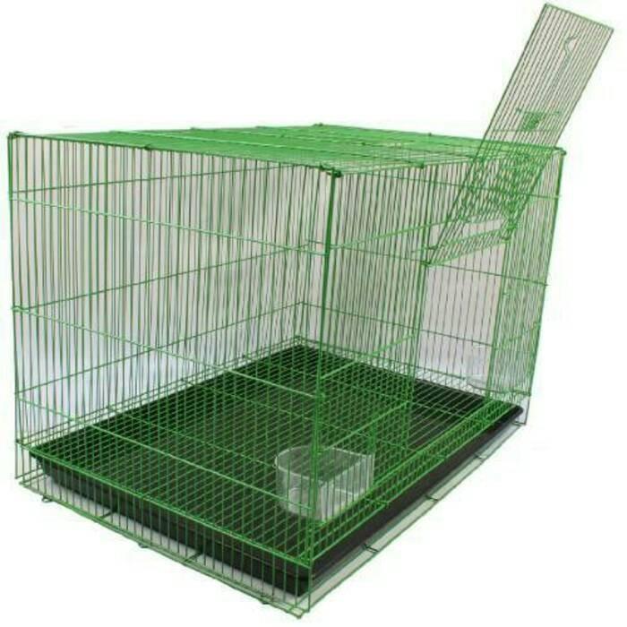 harga Kandang Kucing-burung-kelinci-hamster-iguana Sm2 Oren Tokopedia.com