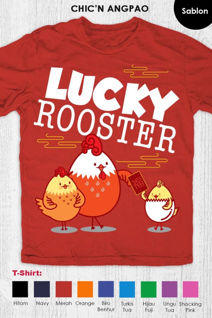 harga Kaos imlek anak dewasa - cny chick n angpao red Tokopedia.com