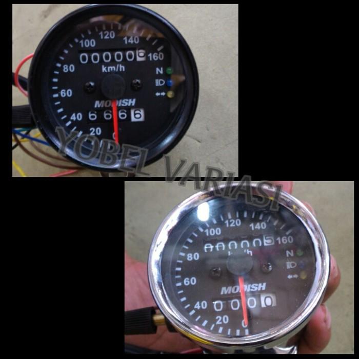 harga Speedometer custom variasi + indikator led Tokopedia.com