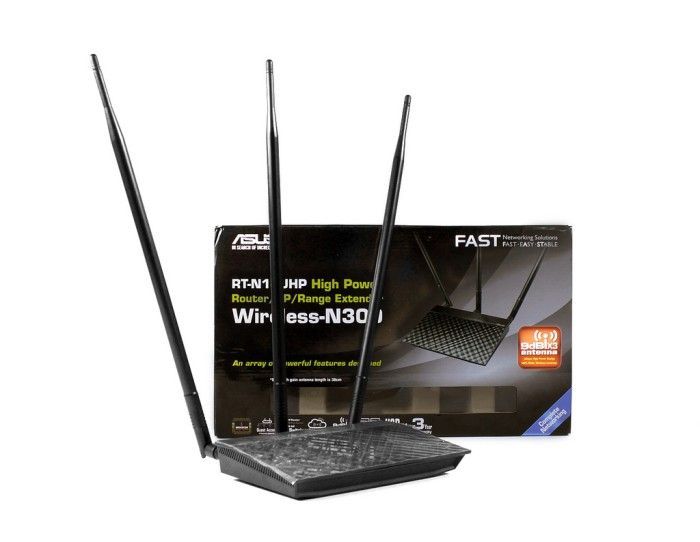 harga Asus rt-n14uhp wireless 300mbps high power 3-in-1 router/ ap/ re rtn14 Tokopedia.com