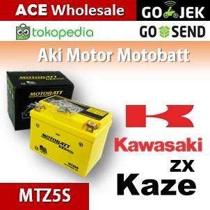 Jual Aki Kawasaki Kaze Zx Motobatt Mtz5s Kering Motor U Gs Yuasa