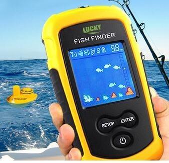 Foto Produk COLOR BERWARNA Wireless Fish Finder Alat deteksi sonar ikan fishfinder dari TOKO NK
