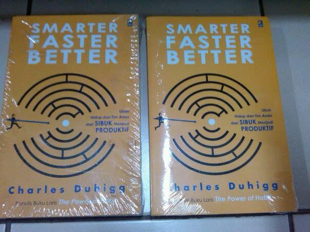 harga Smarter faster better- charles duhigg Tokopedia.com