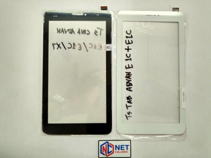 harga Touchscreen Ts Advan E1c / E1c+ / E1c Pro / X7 / X7+ / T1q Tokopedia.com