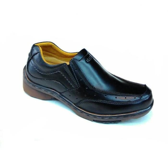 harga Sepatu kulit (gats ib 3003) black Tokopedia.com