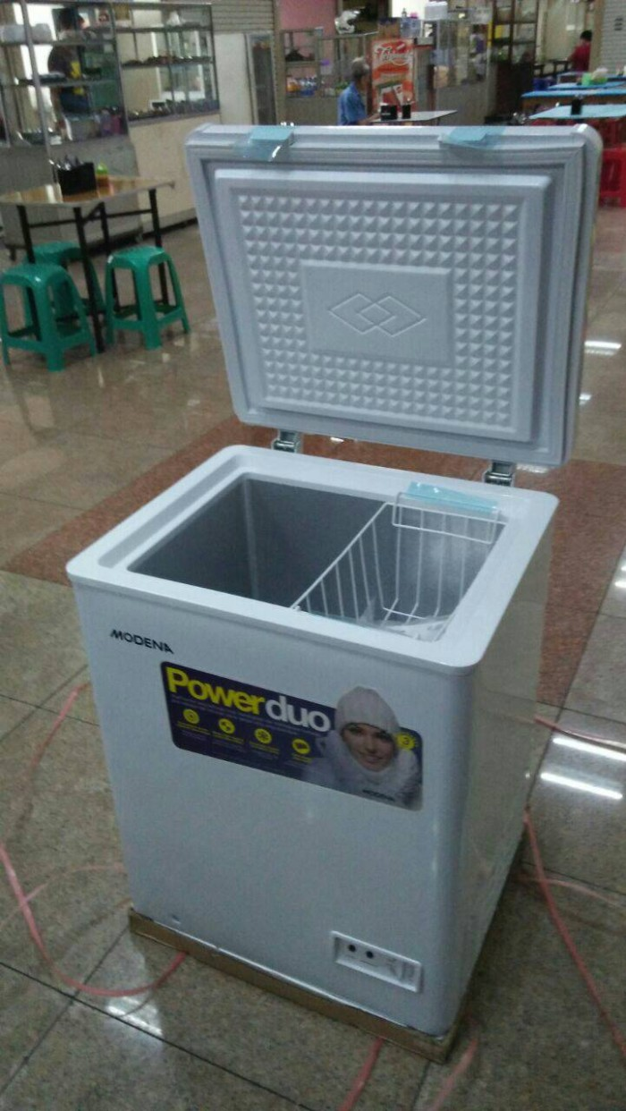 Jual Chest Freezer Modena Md 100 Kap 100ltr Chiller Box