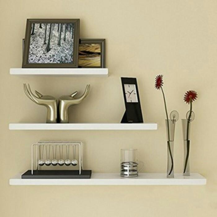 Jual Rak Ambalan Susun Dinding Dekorasi Rumah Minimalis Interior