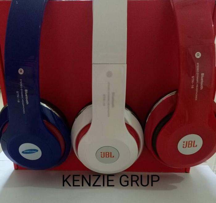 harga Headphone headset bluetooth jbl stn 16 oem Tokopedia.com