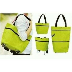 Tas Troli Lipat Troly Shopping Foldable Trolley Bag Cart