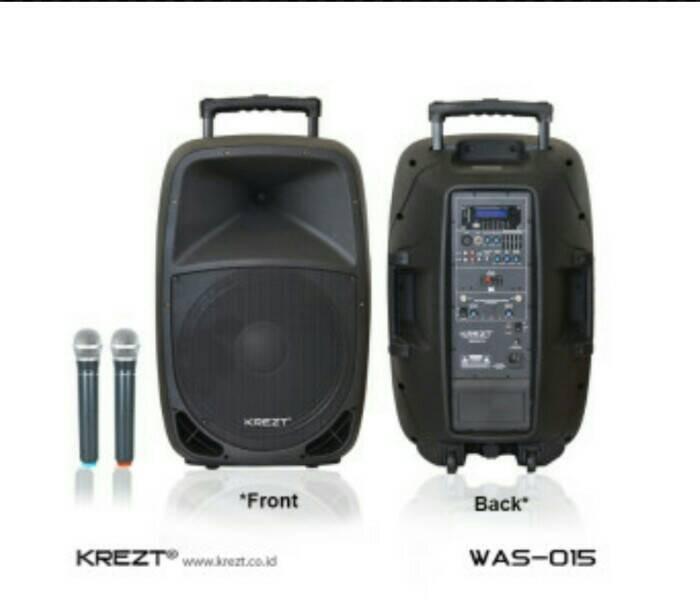 harga Portable wireless meeting krezt was 015 ( 15 inch ) Tokopedia.com