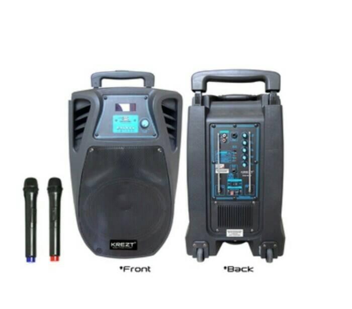 harga Portable wireless meeting krezt was 110fv ( 10 inch ) Tokopedia.com