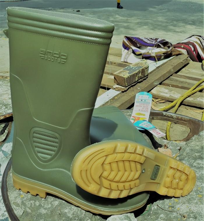 Sepatu Boot Ap Terra Eco 3 Eco3 Hijau Karet Tinggi Panjang Original ... 5c727ceb7e