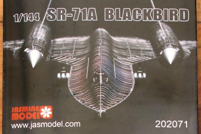 Foto Produk Mokit Jasmine Model 1/144 SR-71 dari rumahmokit