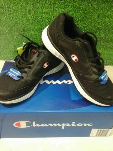 347fa388bb3 Jual sepatu Champion Original Running Pulse Black Memory Foam - Kota ...