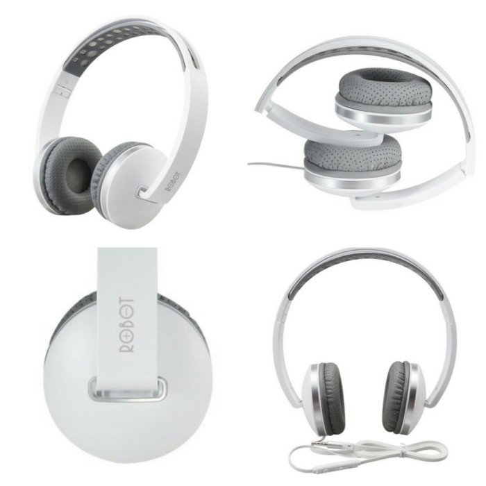 harga Headphone robot ( kabel + bs tlp ) Tokopedia.com