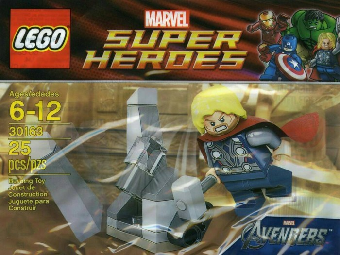 harga Lego Marvel Super Heroes Polybag, Thor And The Cosmic Cube (30163) Tokopedia.com