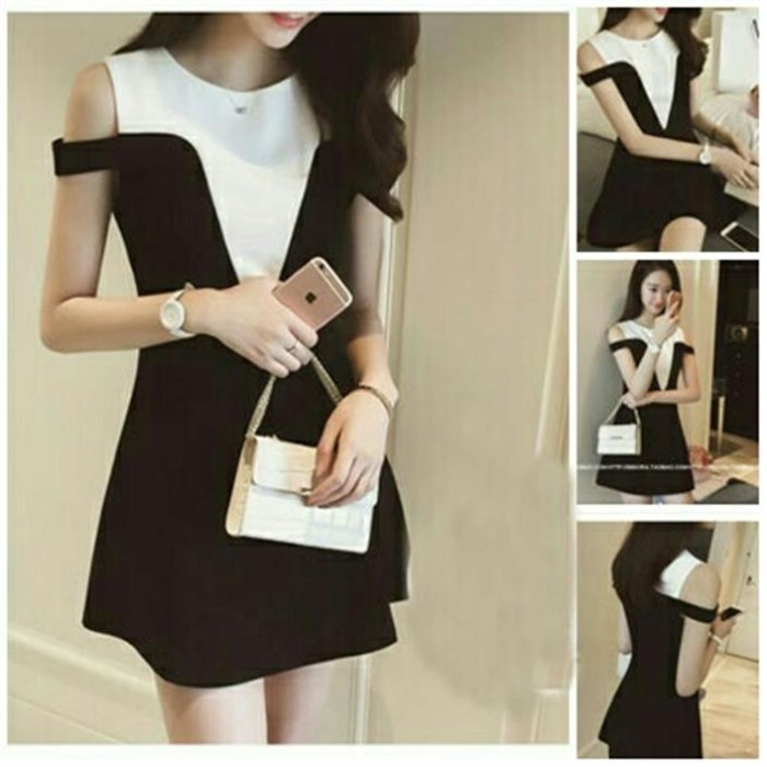 Dress Sabrina Ayumi Black [Dress 122]