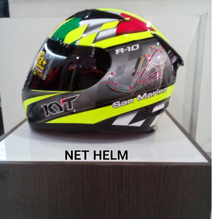 harga Helm kyt r10 sanmarino Tokopedia.com