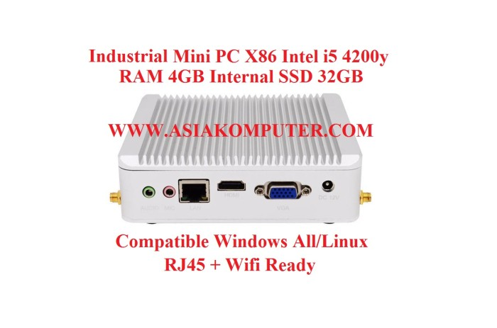 harga Industrial mini pc x86 intel i5 ram 4gb ssd 32gb wifi hdmi vga minipc Tokopedia.com