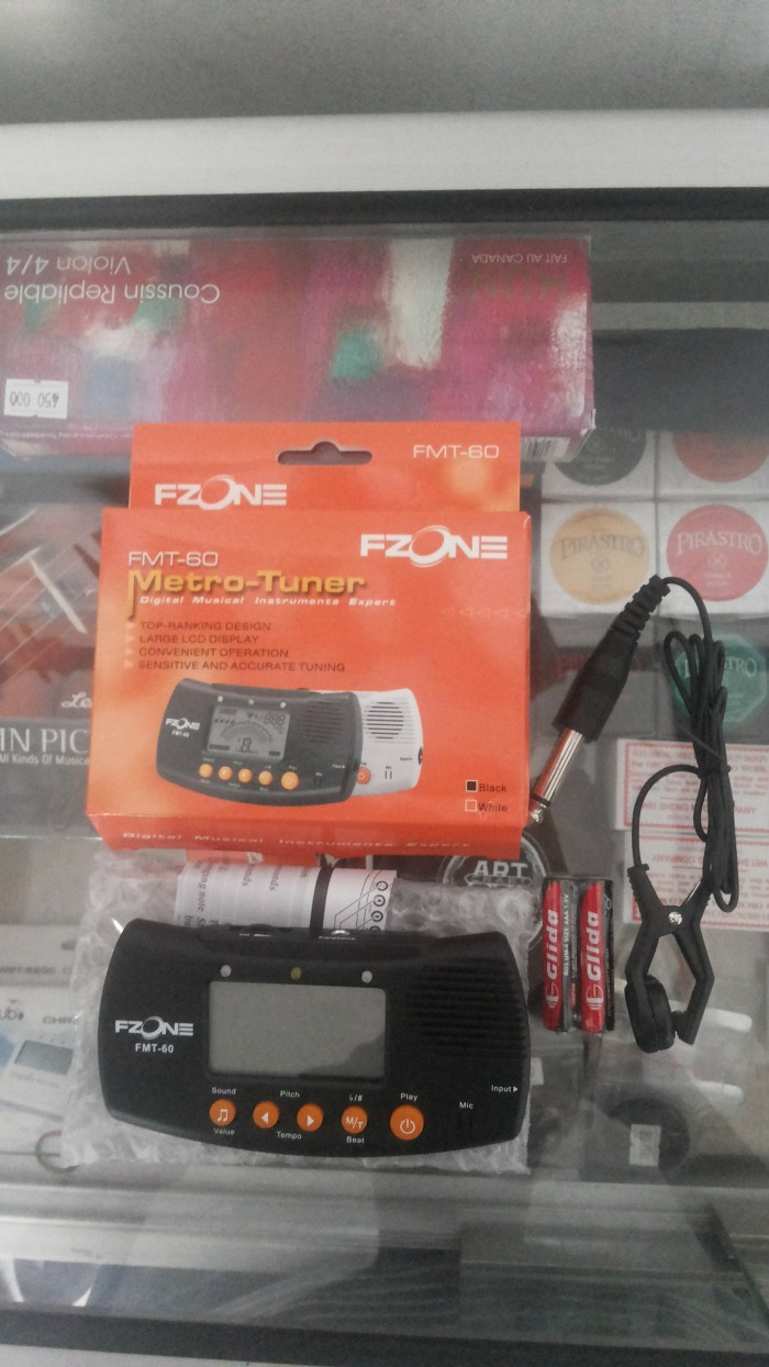 harga Metronome + tuner fzone Tokopedia.com