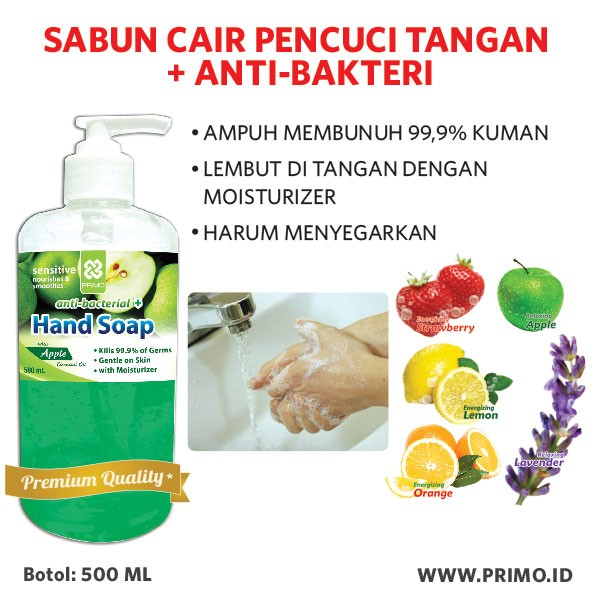 harga Sabun cuci tangan anti bakteri anti bacterial handsoap 500ml Tokopedia.com