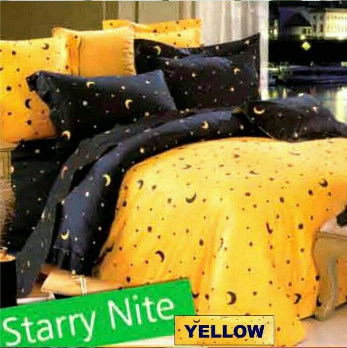 Sprei murah merk star/bintang kecil motif starry nite uk 160x200