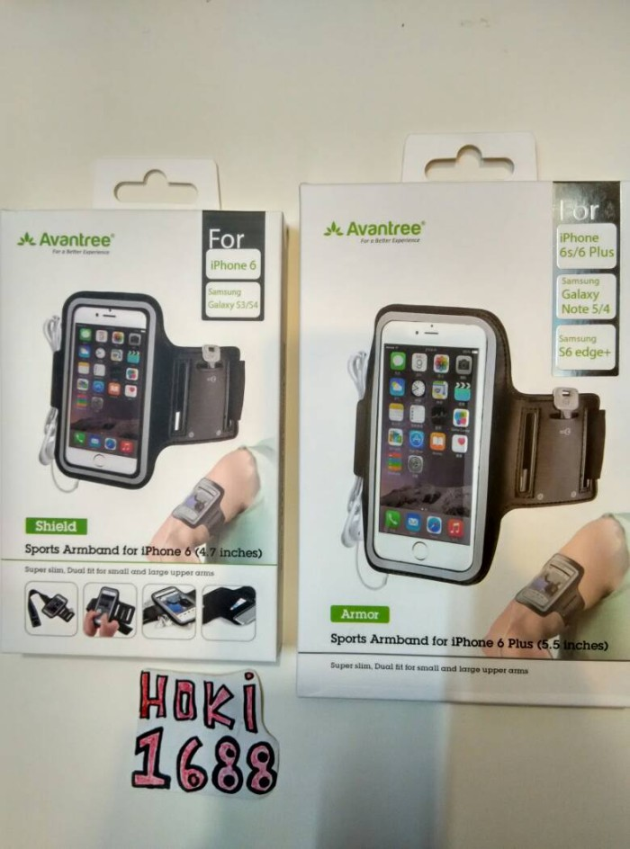 harga Avantree sports armband for iphone 6 plus 7 plus / iphone 6s plus Tokopedia.com
