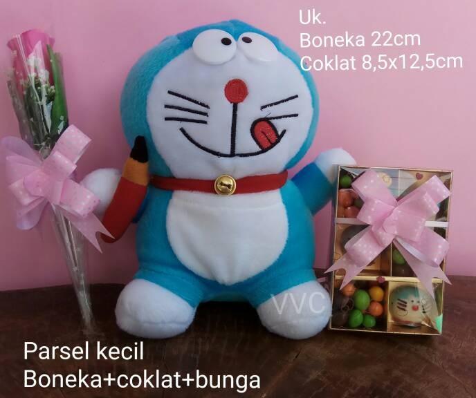 Jual Parsel Valentine kecil (Boneka doraemon + coklat valentine + ... 04f991f85d