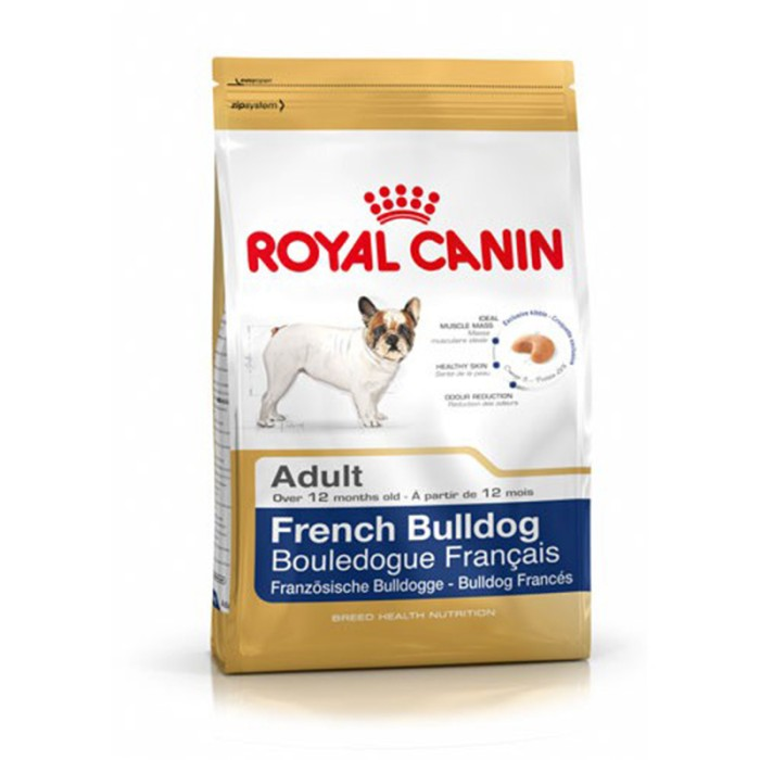 harga Royal canin french bulldog adult 3kg makanan anjing dewasa kering dry Tokopedia.com