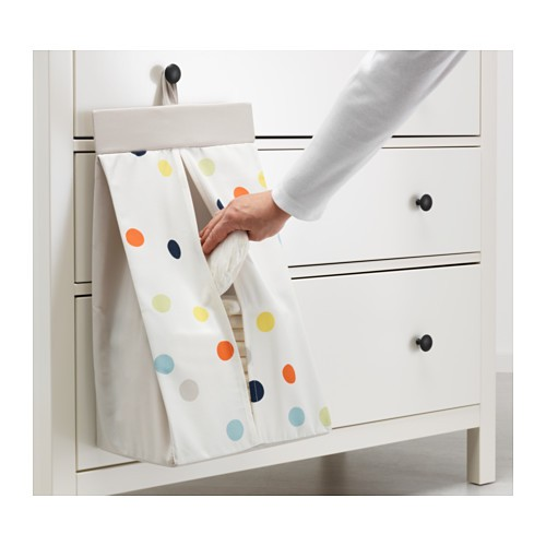 harga Ikea dromland ~ tempat penyimpan popok bayi 30x52x22cm | nappy stacker