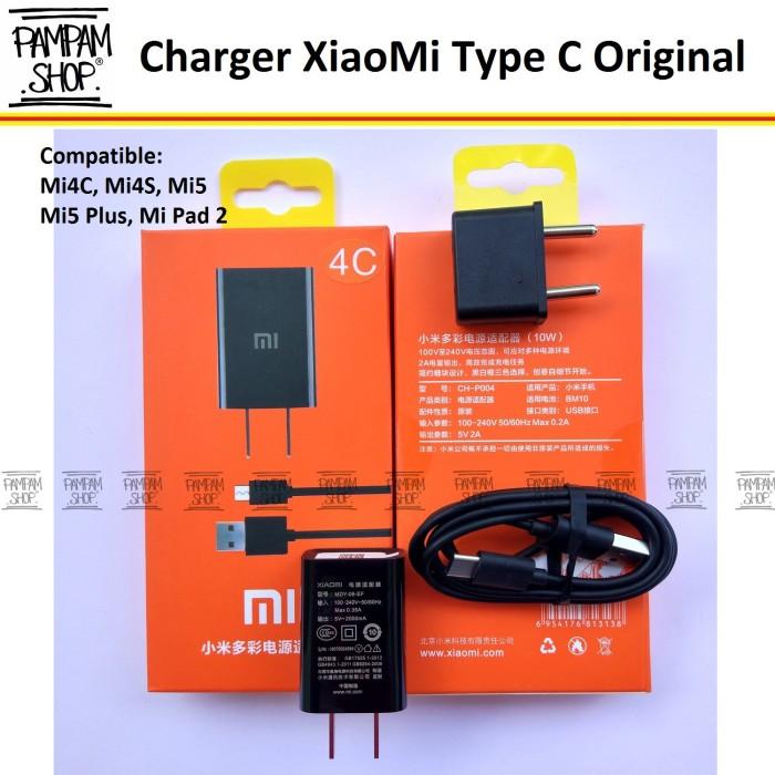 Charger Casan XiaoMi Type C Mi4C Original 100% 2A   Xiao Mi, Mi 4C