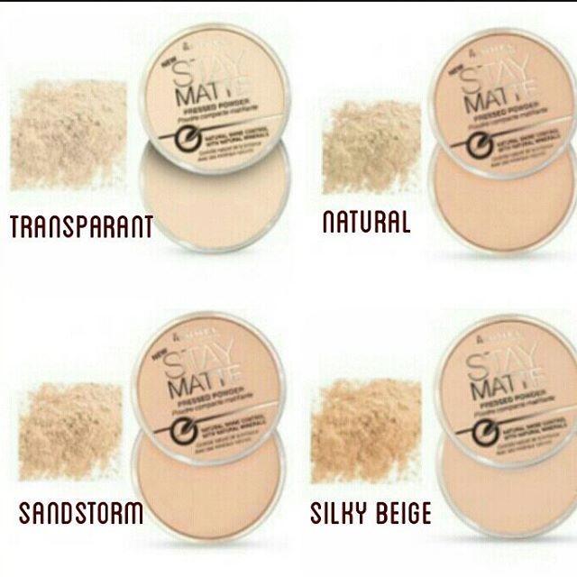 Foto Produk Rimmel Stay Matte Pressed Powder Natural dari 3eshop-promo